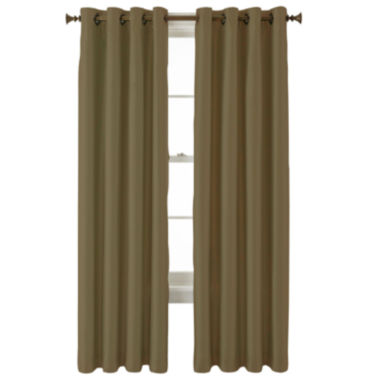 jcpenney.com | Royal Velvet® Plaza Grommet-Top Lined Blackout Curtain Panel
