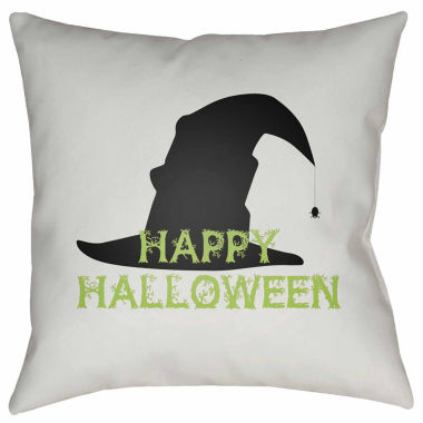 jcpenney.com | Surya Happy Halloween Square Throw Pillow