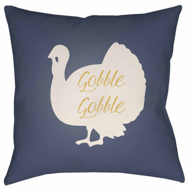 jcpenney.com | Surya Tom Turkey Square Throw Pillow