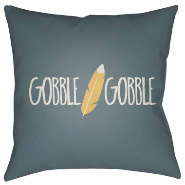 jcpenney.com | Surya Gobble Gobble Square Throw Pillow