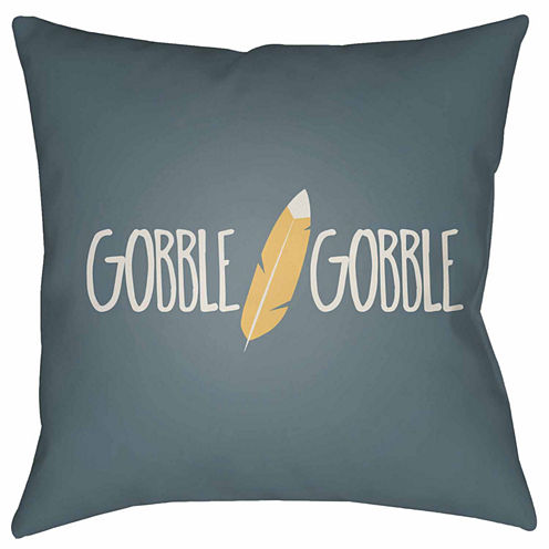 Decor 140 Gobble Gobble Square Throw Pillow