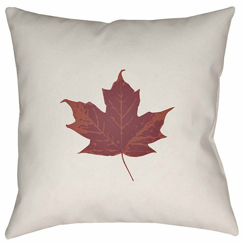 Decor 140 Maple Leaf Square Throw Pillow