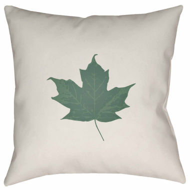 jcpenney.com | Surya Maple Leaf Throw Pillow Cover