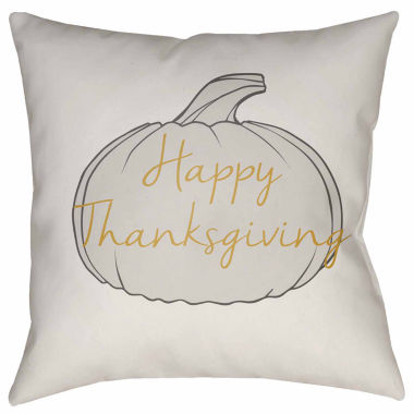 jcpenney.com | Surya Thankful Holiday Throw Pillow Cover