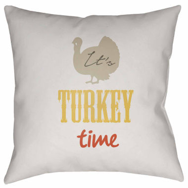 jcpenney.com | Surya It'S Turkey Time Throw Pillow Cover