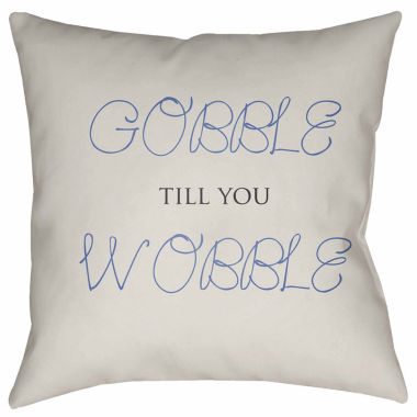 jcpenney.com | Surya Gobble Till You Wobble Throw Pillow Cover