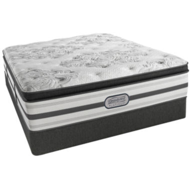 jcpenney.com | Simmons® Beautyrest® Platinum® McNeil Pillow-Top Luxury Firm Mattress + Box Spring