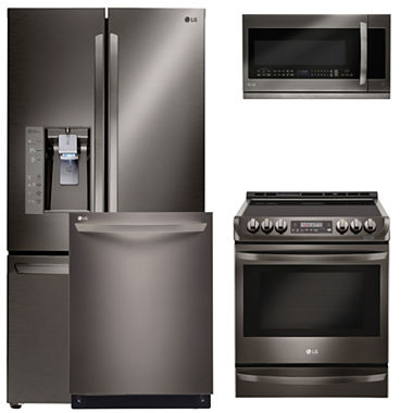 Lg 4 Pc Electric Kitchen Package Lse4613st Jcpenney