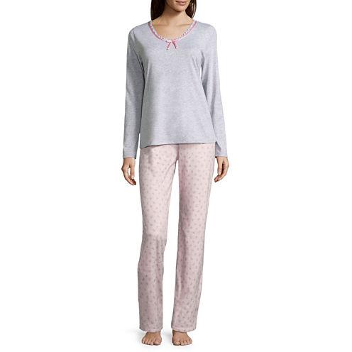 Adonna Knit Pant Pajama Set
