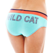 Flirtitude® Girlie Cotton-Blend Boykini Panties