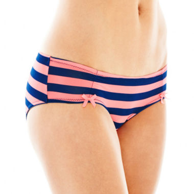 jcpenney.com | Flirtitude® Microfiber Ruched Hipster Panties