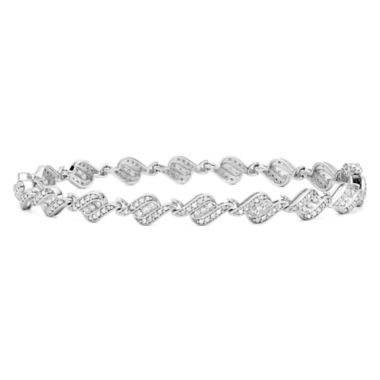jcpenney.com | 1 CT. T.W. Diamond 10K White Gold Bracelet