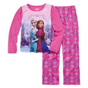 Disney Frozen 2-pc. Elsa and Anna Pajama Set - Girls 4-8