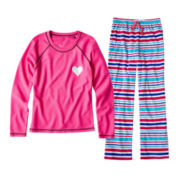 Total Girl® Fleece Sleep Pants or Thermal Sleep Shirt - Girls 4-20