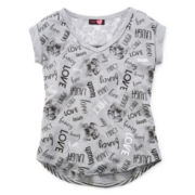 Ransom Girl Short-Sleeve Word Tee - Girls 7-16