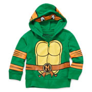 Teenage Mutant Ninja Turtles Fleece Hoodie - Boys 2t-5t
