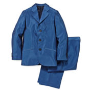 Steve Harvey® 2-pc. Shiny Twill Suit – Boys 8-20