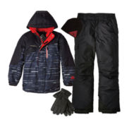 ZeroXposur® Jacket and Hat, Vertical 9 Snow Pants or Ski Gloves – Boys