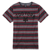 Zoo York® Short-Sleeve Striped Knit Tee – Boys 8-20