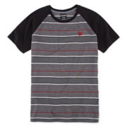 Zoo York® Short-Sleeve Striped Knit Tee - Boys 8-20
