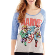 Marvel® Heroes 3/4-Sleeve Graphic Tee