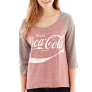 Coca-Cola® Raglan-Sleeve Graphic Tee