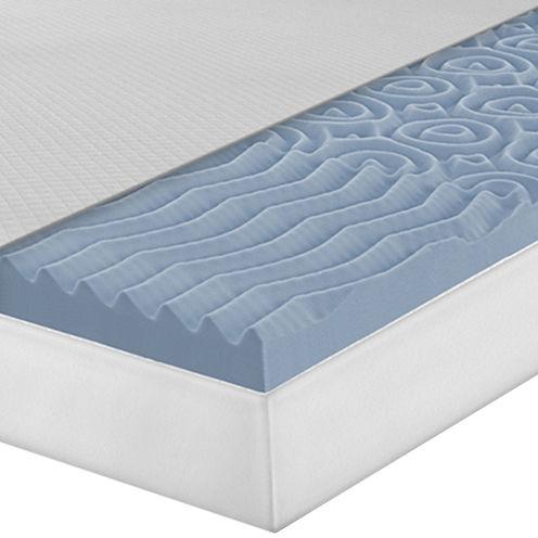 """SensorPEDIC® Slumber Supreme 2"""" Memory Foam 3-Zone Bed Topper"""
