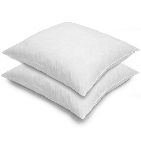 Euro Square Feather 2-Pack Pillows