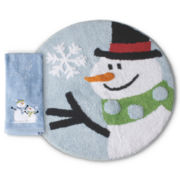 Snowman Bath Collection
