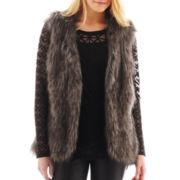 nicole by Nicole Miller® Faux-Fur Vest