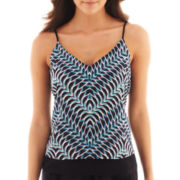 Bisou Bisou® High-Low Print Cami