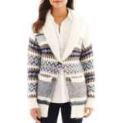 i jeans by Buffalo Long-Sleeve Print Cardigan Sweater