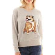 I 'Heart' Ronson® Long-Sleeve Cadillac Dog Sweatshirt