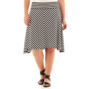 a.n.a® Short Knit Skirt - Plus