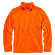 Arizona Long-Sleeve 1/4-Zip Fleece Pullover - Boys 6-18