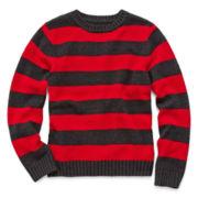 Arizona Stripe Pullover Crewneck Sweater – Boys 6-18