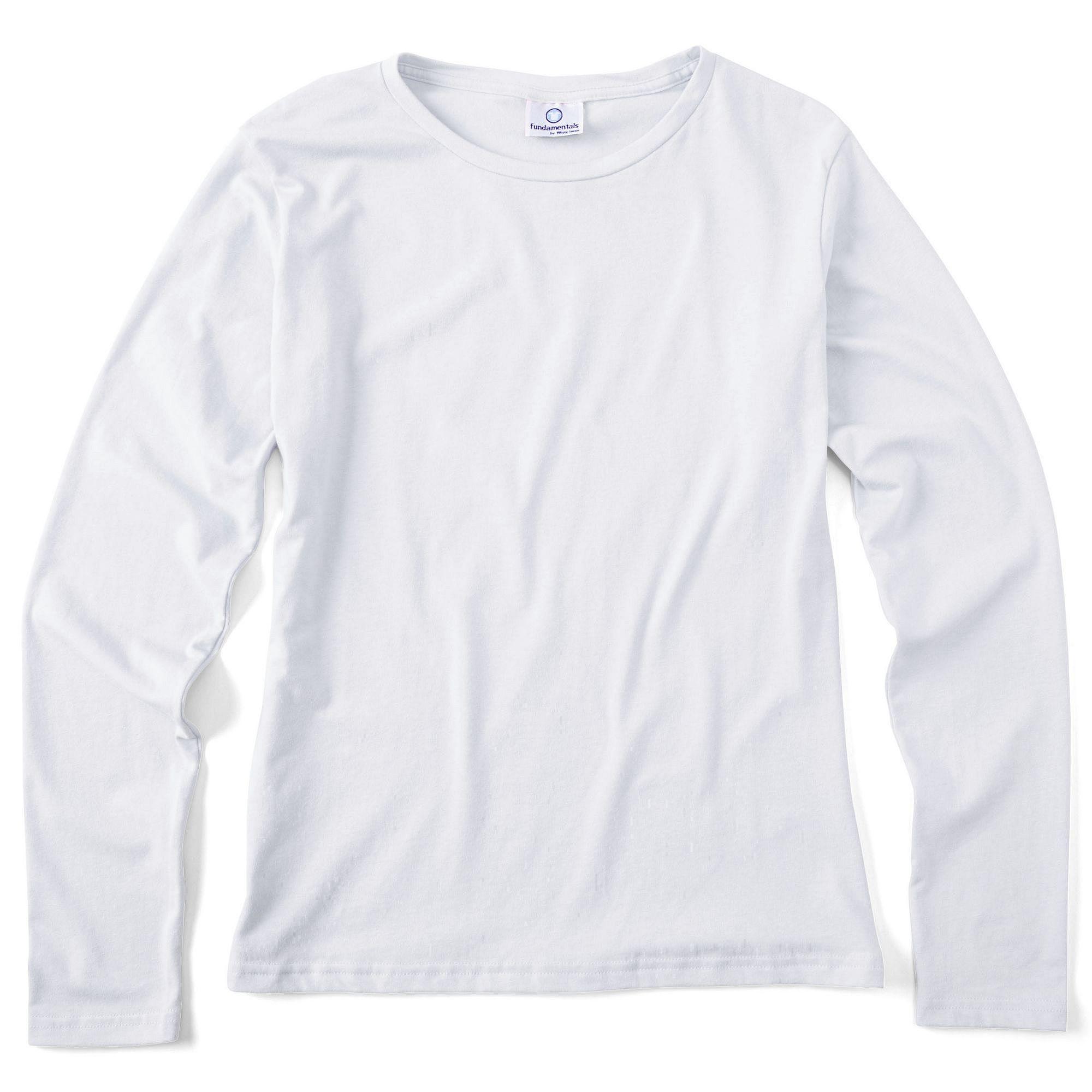Fundamentals Women's Long-Sleeve T-Shirt plus size,  plus size fashion plus size appare
