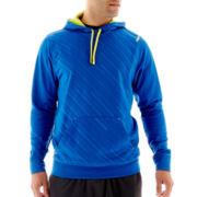 Reebok® Embossed Fleece Pullover