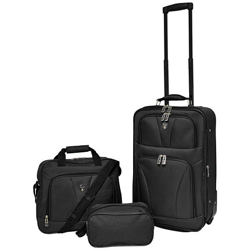 Travelers Club Eva 3-pc. Boarding Luggage Set