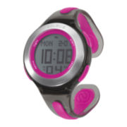 Soleus Swift Womens Black and Pink Bangle Digital Sport Watch