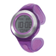 Soleus Swift Womens Purple Bangle Digital Sport Watch
