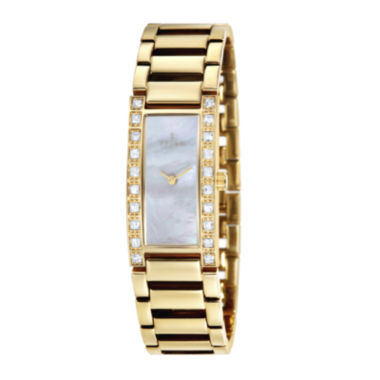 jcpenney.com | Fjord Aasa Womens Gold-Tone Bracelet Watch