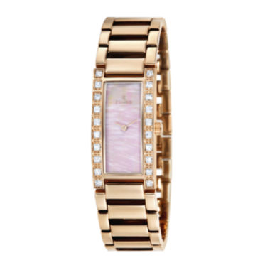 jcpenney.com | Fjord Aasa Womens Rose-Tone Bracelet Watch