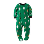 Carter's® Fleece Animal Pajamas - Baby Boys 12m-24m
