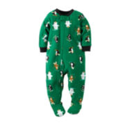 Carter's® Fleece Animal Pajamas - Toddler Boys 2t-5t