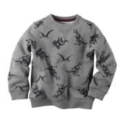 Carter's® Fleece Dinosaur Sweatshirt - Toddler Boys 2t-5t