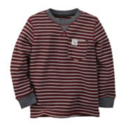 Carter's® Striped Thermal Tee - Toddler Boys 2t-5t