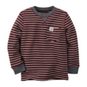 Carter's® Striped Thermal Tee - Preschool Boys 4-7