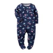 Carter's® Butterfly Sleep & Play - Baby Girls newborn-9m