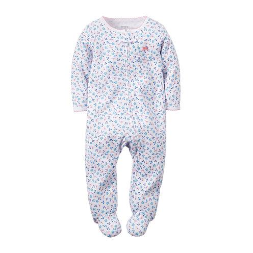 Carter's® Floral-Print Sleep & Play - Baby Girls newborn-9m